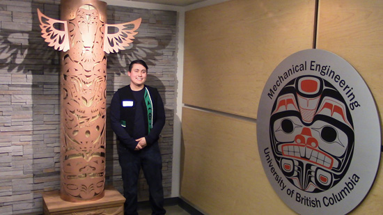 Squamish artist James Harry